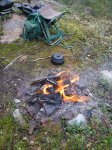 Eld i skogen  - <p><em>Foto: Ingela Nyman</em></p>