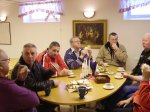 73.jpg - <p>Kaffe med dopp värmde gott, när vi tog en välförtjänt <br /> paus från ljusstöpet, tyckte Birger, Stellan, Sverker, <br /> Folke, Lasse, Roland och Debora <br /> <em>Foto: Pia Lingesten</em></p> <div></div>