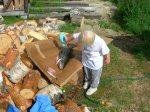 86.jpg - <p>...... naturligtvis hjälpte Olivia till vid rensningen av hennes första Grundforsöring!</p> <p><em>Foto: Daniel Lundquist</em></p>
