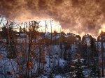 Snö - <p>20/10 Snön hänger över byn</p> <p><em>Foto:Kurt Nyman</em></p>