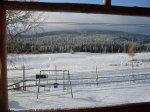 Första snön - <p>13/10 F&ouml;rsta sn&ouml;n med Tjeresten i bakgrund. </p> <p><em>Foto: Stig Nyman</em></p>